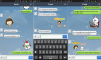 line android interface